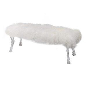 ספסל לבן כיבשה מגנוליה מקורי