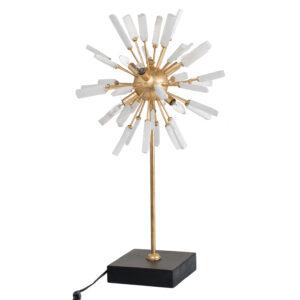 מנורת שולחן כוכב דקורטיבית