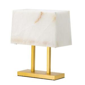 מנורת שולחן שיש
