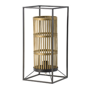 מנורת שולחן ברזל